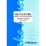 Signature: Fantasy In Two Movements (BB) SCORE ONLY