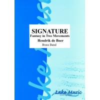 Signature: Fantasy In Two Movements (BB) SCORE and PARTS