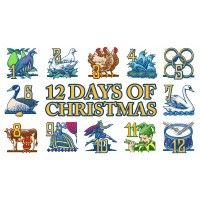 The Twelve Days Of Christmas (CB/WB)