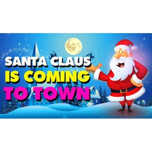 Santa Claus Is Coming To Town Bb