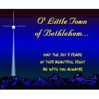 O Little Town Of Bethlehem (BB)