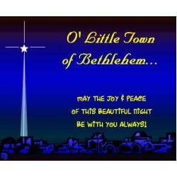 O Little Town Of Bethlehem (CB/WB)
