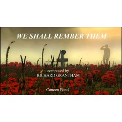 We Shall Remember Them (CB/WB)